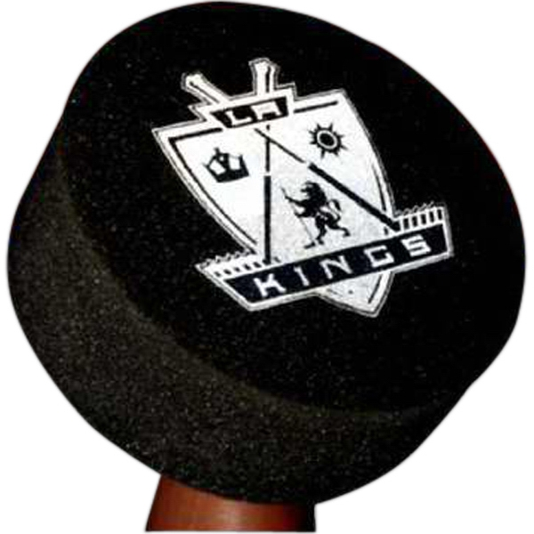 Printed Foam Hockey Puck Hat