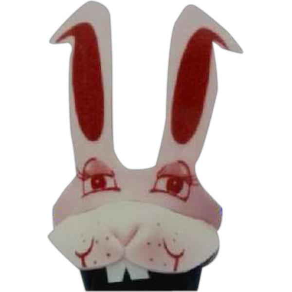 Imprinted Foam Rabbit Hat