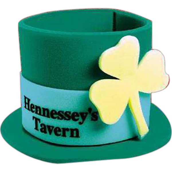 Imprinted Foam St. Patrick's Day Top Hat