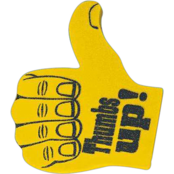 Personalized Foam Thumbs Up Hand