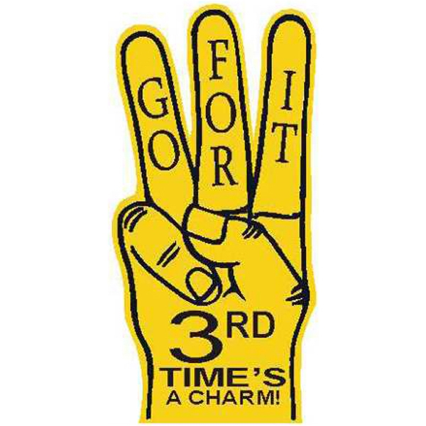 Promotional Foam 3-Finger Hand