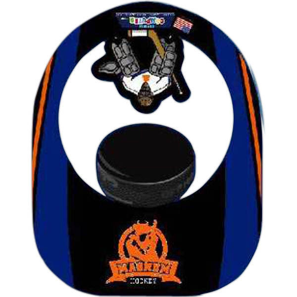 Customized Foam Puck and Goalie Visor