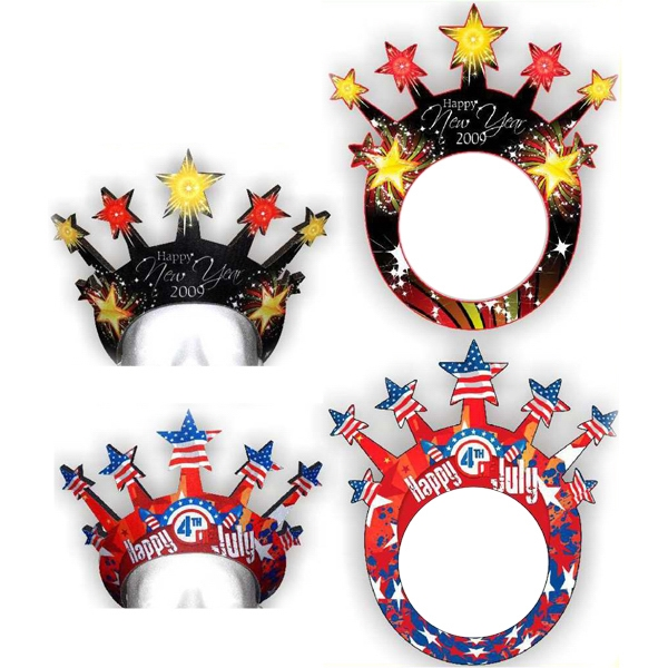 Promotional Foam Star Visors