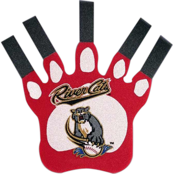 "Customized 16"" Foam Paw with Extended Claws Mitt"