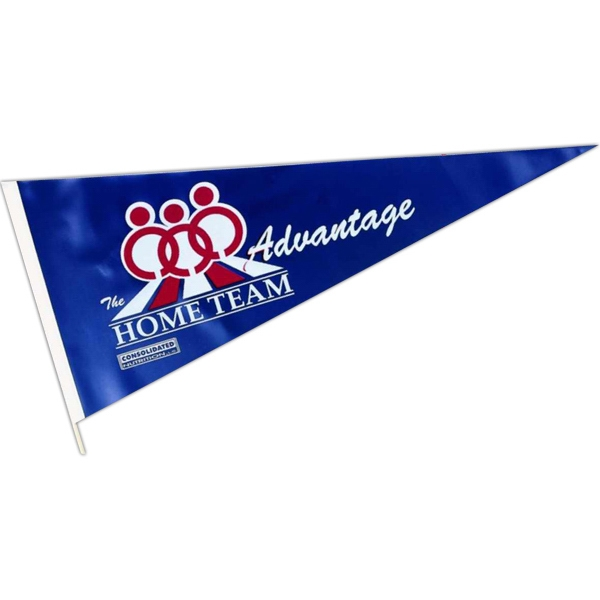 "Personalized 22"" Long Vinyl Pennant"