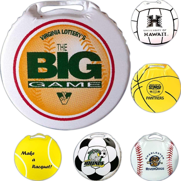 Personalized Round Stadium Cushion