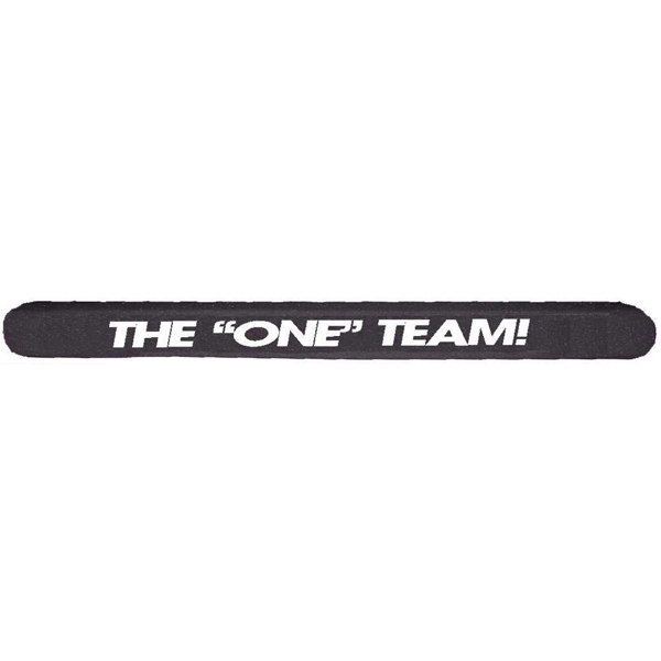 Personalized Foam Spirit Stick with Rounded Ends