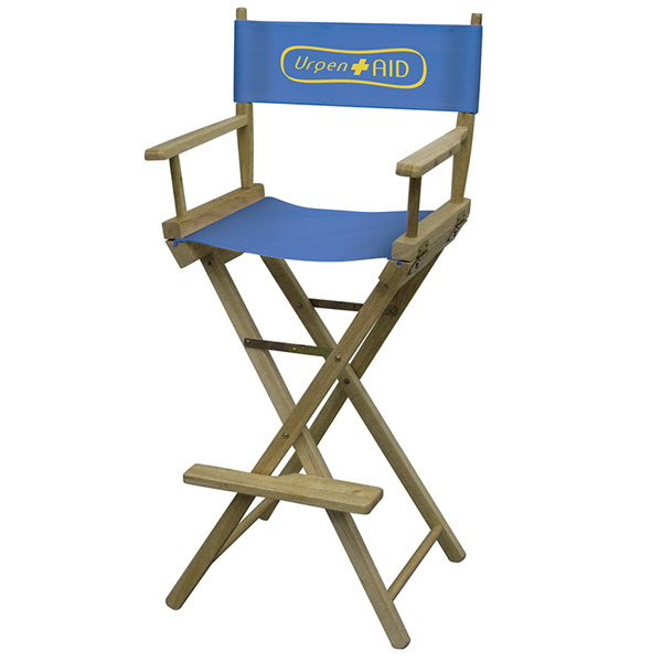 Personalized Directors Chair 1-Color Imprint