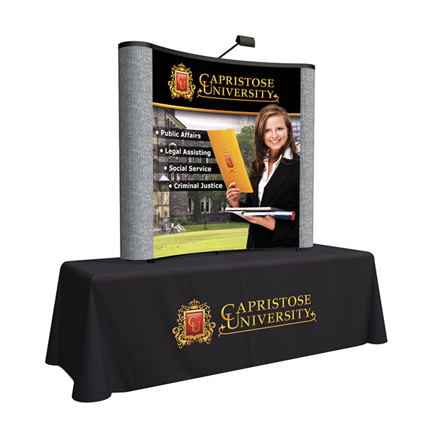 Promotional Mural with Fabric Ends Kit