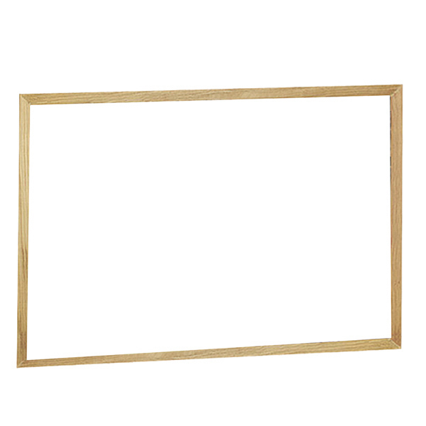 Printed Premium Brilliant Board - Oak Wood Frame