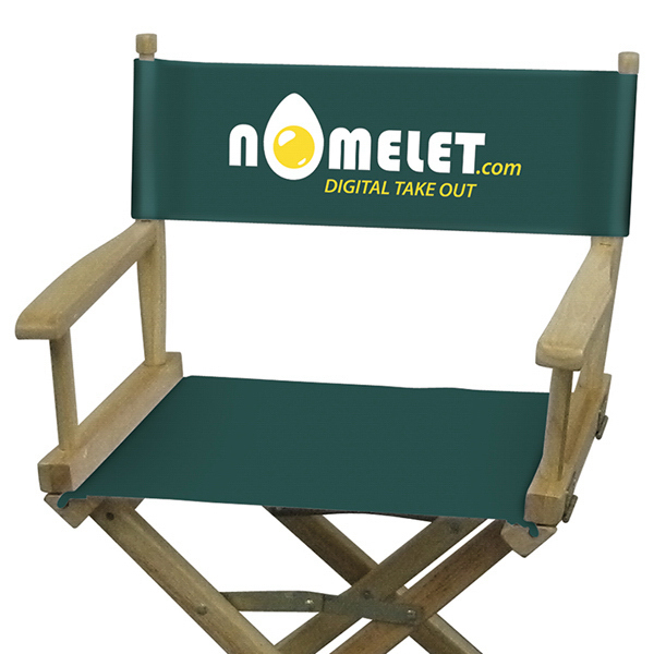 Promotional Directors Chair 2-Color Imprint