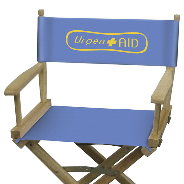 Customized Directors Chair 1-Color Imprint Canvas Only Kit