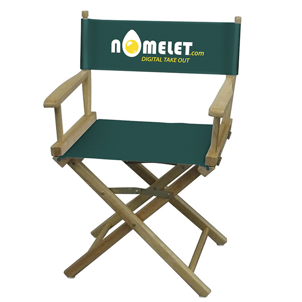 Imprinted Directors Chair 2-Color Imprint