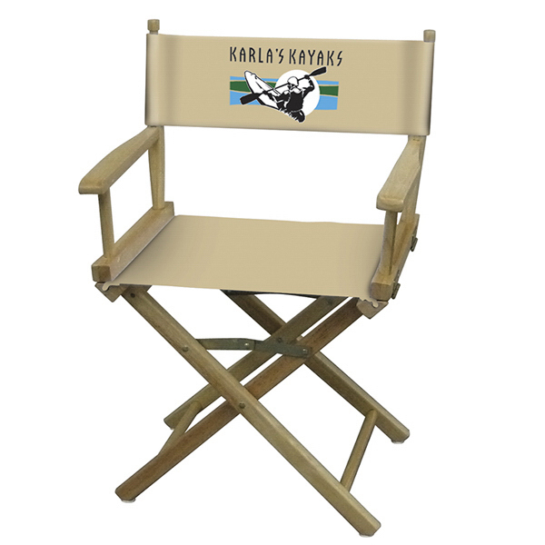 Custom Directors Chair Full-Color Imprint