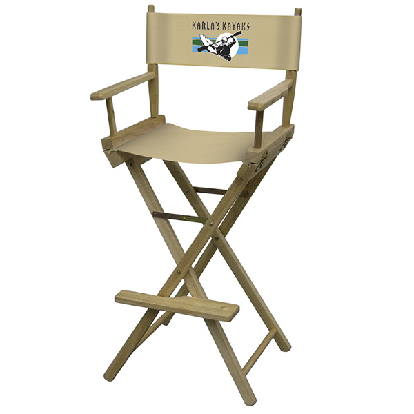 Printed Directors Chair Full-Color Imprint