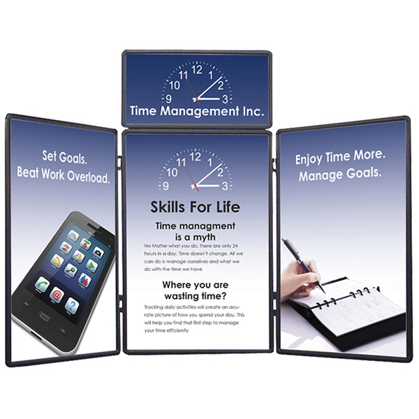 Promotional Show 'N Fold Kit C Display, Graphic Header & Graphic Panels