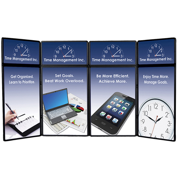 Imprinted Show 'N Fold Kit C Display, Graphic Header & Graphic Panels