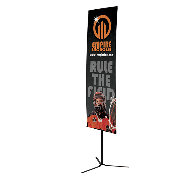 Promotional Everyday Banner Display with Foldable Foot