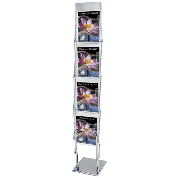 Customized Clear View Literature Display