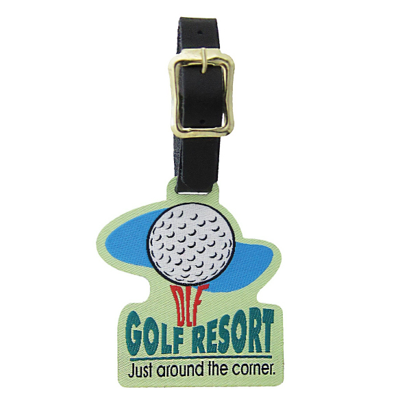 Customized Golf Bag Tag - Custom Shape