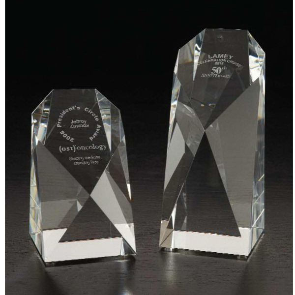Printed Monolith Large Optically Perfect Award
