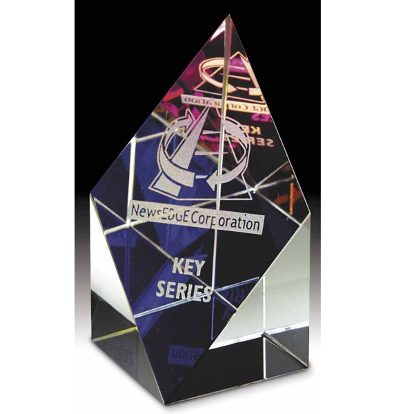 Custom Prism Tower Small Dichroic Award