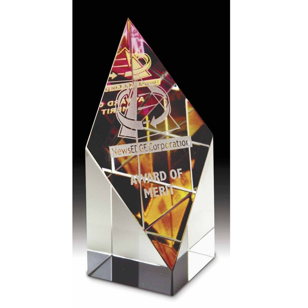 Printed Prism Tower Medium Dichroic Award