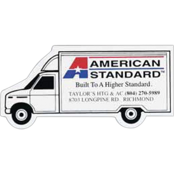 Customized Moving Truck Magnet
