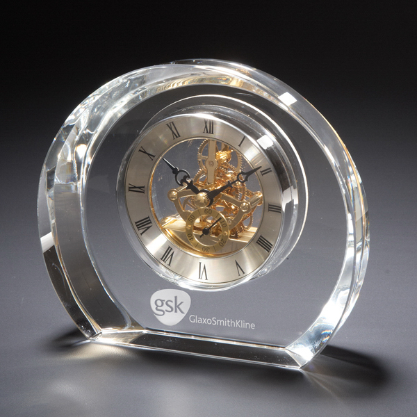 Personalized Copenhagen Glass Clock