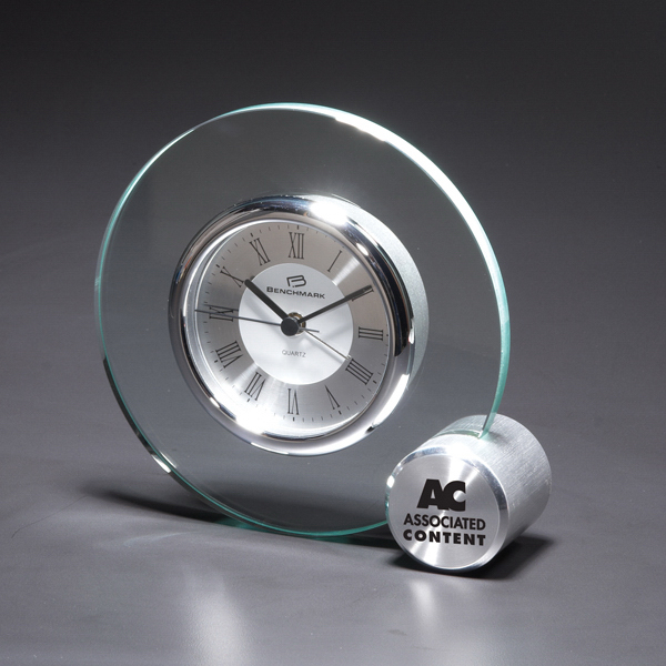 Custom Concentric Glass Clock
