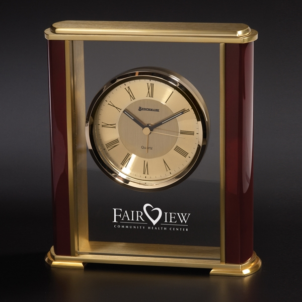Customized Florence Brass Clock