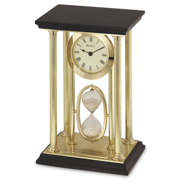 Printed Executive Duet Elegant Clock