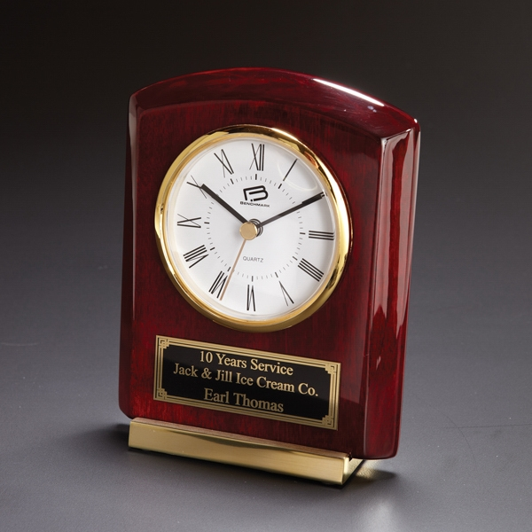 Promotional Cornell Wood Clock