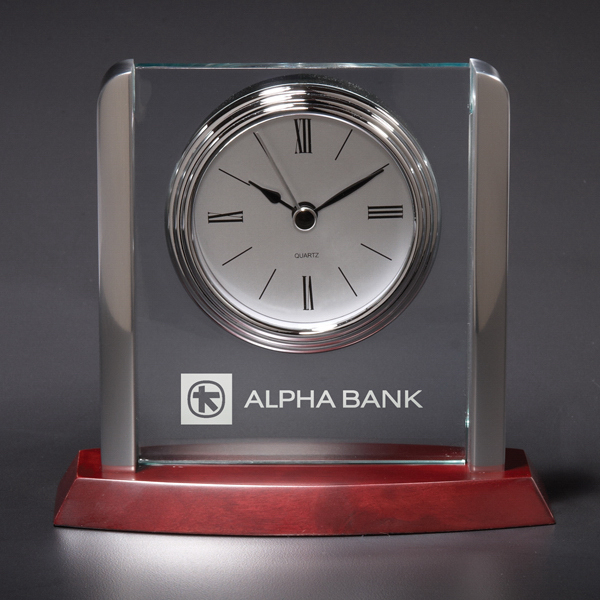 Custom Harvard Acrylic Clock