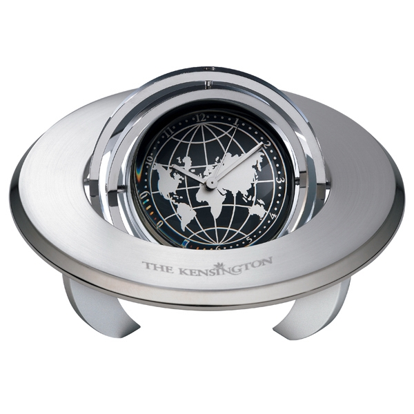 Personalized Planetarium Medium Gimbal Clock / Frame
