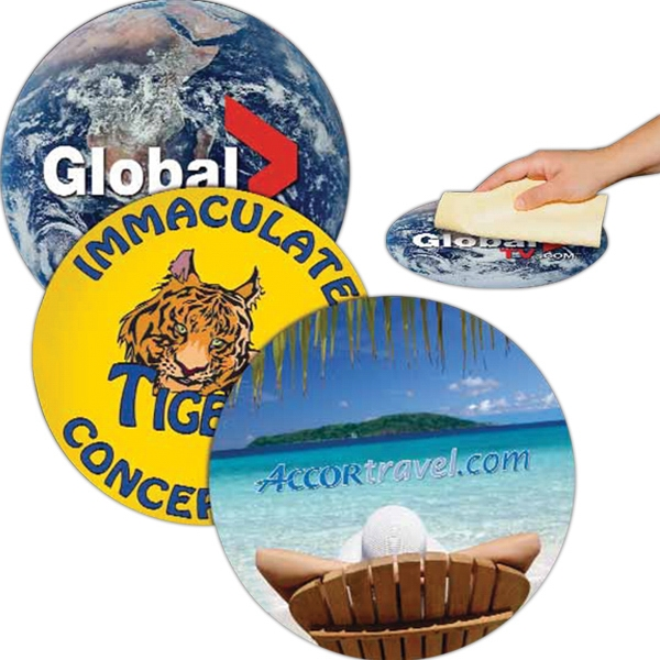 Personalized Circle Removable Adhesive Mouse Pad