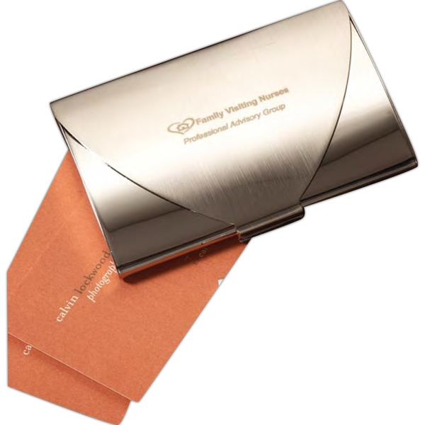 Personalized Luxembourg Business Card Holder
