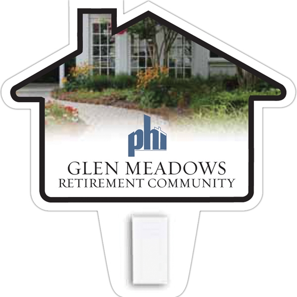 Personalized House Magnet with Clip
