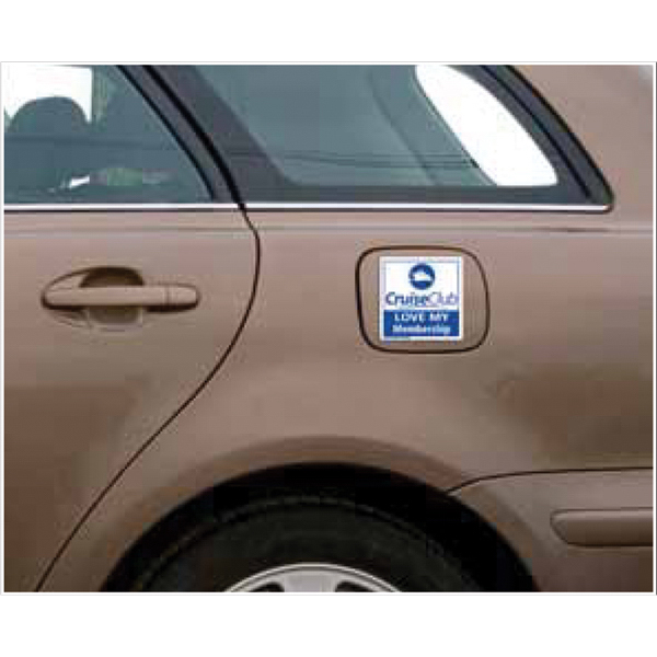 Promotional 3-3/4 x 3-3/4 Car Sign Magnet