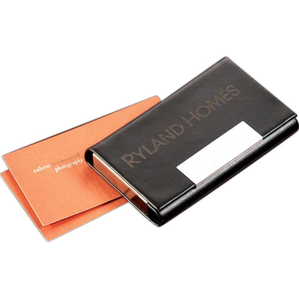 Promotional Vienna Business Card Holder