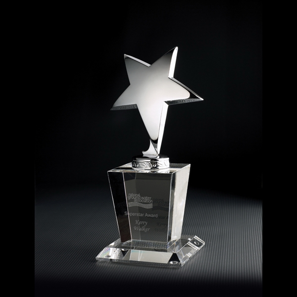 Promotional North Star Optically Perfect Award