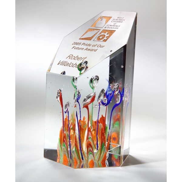 Promotional Fascination Art Glass Award