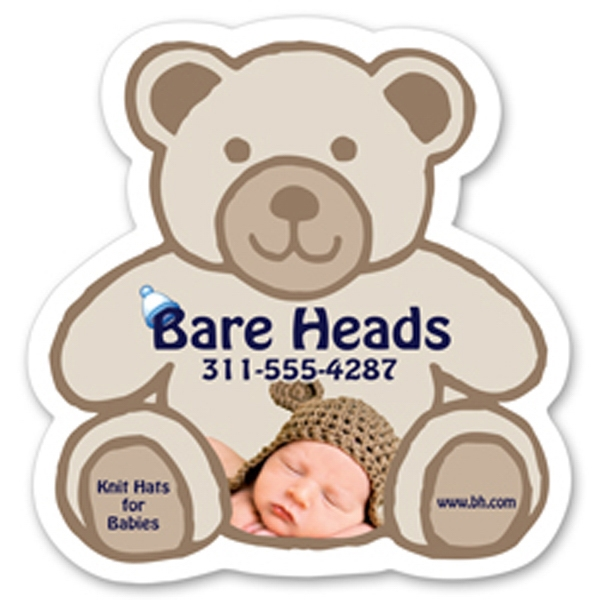 Customized Jumbo Teddy Bear Magnet