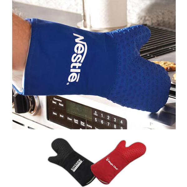 Personalized Cool Silicone Oven Mitt