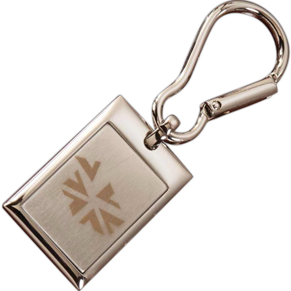 Printed Easy Clip Keytag Rectangle