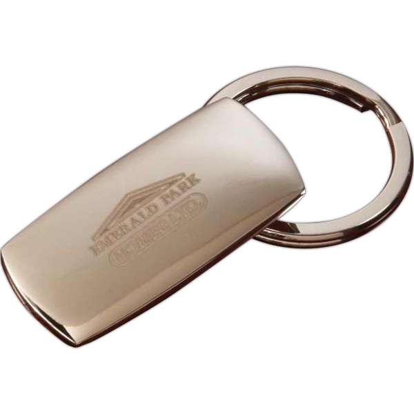 Promotional Rectangle Keytag