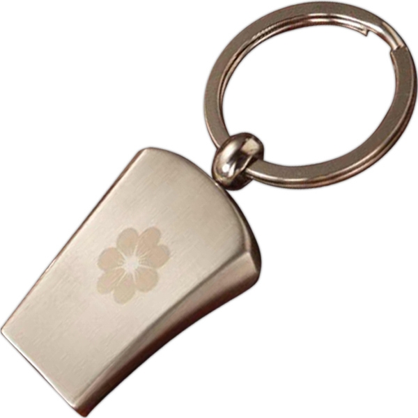 Personalized Whistle Keytag