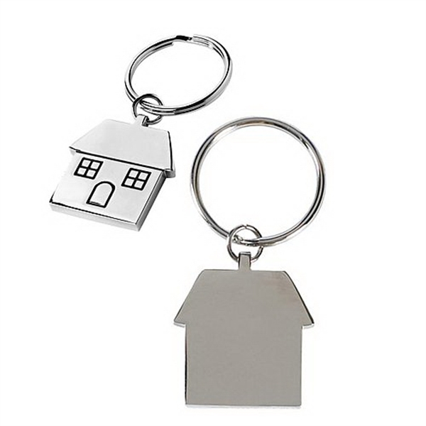 Imprinted House Keytag