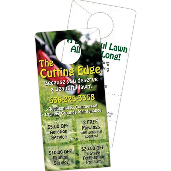Printed Door Hanger Paper Card