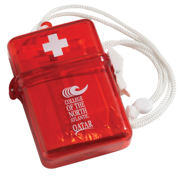 Imprinted Waterproof First Aid Kit